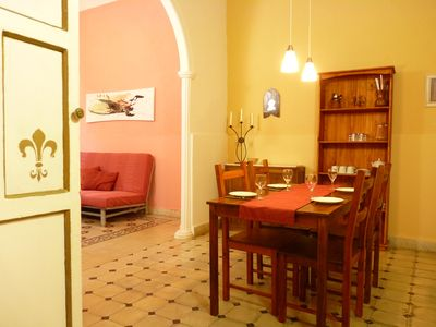 Photo for Spacious apartment- Jerez historical centre, garden, terrace, WIFI