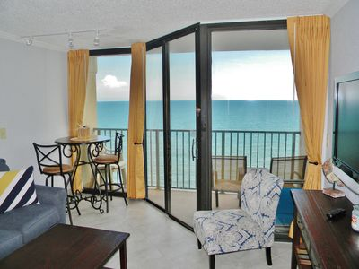 Photo for Freshly Renovated  Oceanfront Condo at Sand Dunes