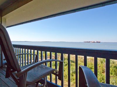 Photo for North Beach Condo with Serene Ocean Views from Beachfront Balcony