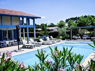 Photo for ERIJACK Landes house for 9 persons with swimming pool