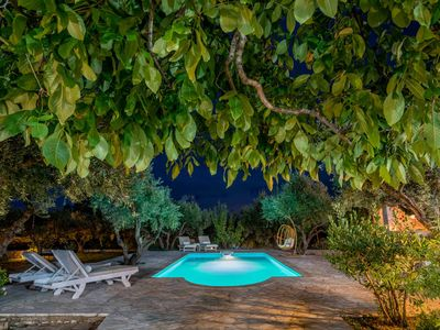 Photo for Secluded villa with attached cottage set in its own olive grove with pool
