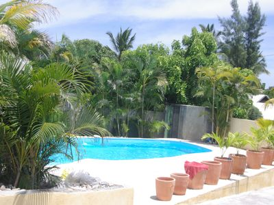 Photo for Grand T1 with ideal 3 people near beach and swimming pool access