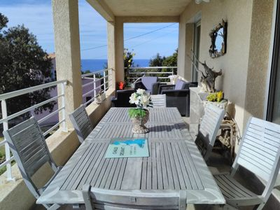 Photo for House Villa with panoramic sea views and agriate