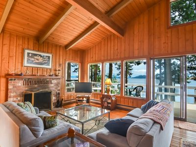 Photo for Waterfront Cabin with Great Sunsets & Super Location Near Roche Harbor