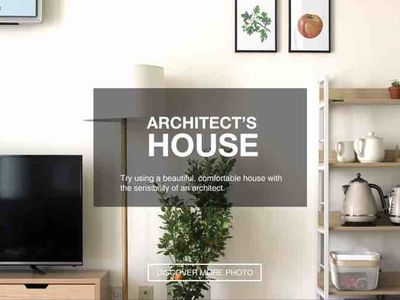 Photo for [NEW 30% OFF] Architect's House, Jamsil