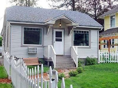 Photo for Cute downtown Coeur d' Alene home, only 7 blocks from the resort, lake, park