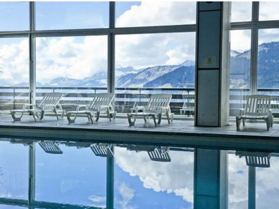 Photo for Studio 300 meters from slopes Holiday residence pool, sauna, lounge, restaurant