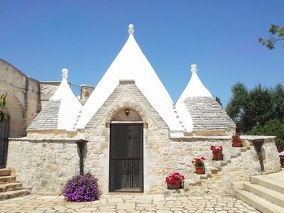 Traditional trullo, access from villa,  3rd bedroom