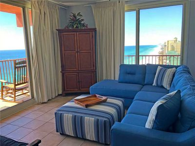 Photo for Panoramic Views Gulf Front 3 Bedroom 3 Bath Gulf Front Condo