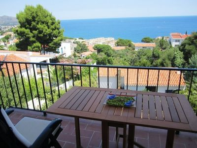 Photo for Apartment with sea views in Llançà - 1052