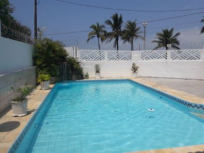 Photo for Casa Beira Mar with pool and waterfall in Mongaguá with 06 suites