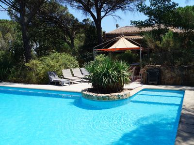 Photo for Detached villa hidden in the greenery, quiet location and private swimming pool.