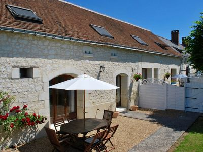 Photo for Beautifully presented house in the heart of the Loire Valley, stunning location