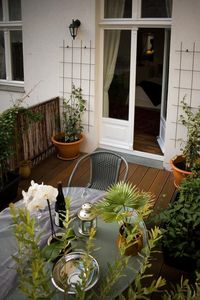 Charming Suites (Studios),WLan,DSL,Smart TV,Dachterrasse,Mitte,Nähe Deut.Theater