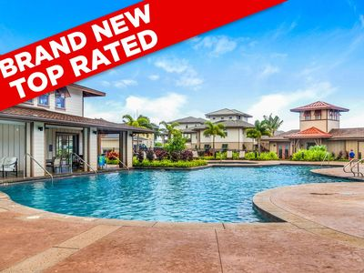Photo for NEWEST Pili Mai OCEANVIEW Villa Central AC POOL