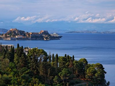 Photo for Villa Aphrodite - Luxury Elegant Villa With The Most Stunning View of Corfu