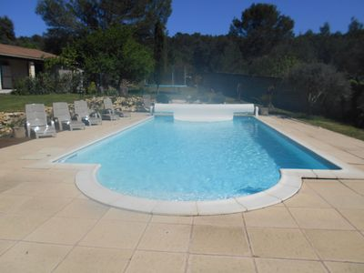 Photo for Cottage in 5000m² property, quiet and nature, ideal children, heated pool