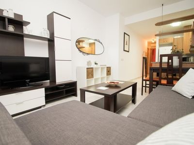 Photo for Apartment in the center of Málaga with Lift, Air conditioning (738421)