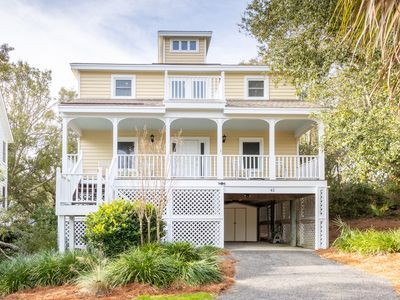 Photo for Great Family Beach House in Wild Dunes.  Short Walk to Beach and Pool