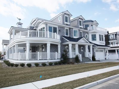 Photo for BRAND NEW AVALON HOME FOR 2019! 6BR, 6 FULL & 2 HALF BATHS...POOL & ELEVATOR!