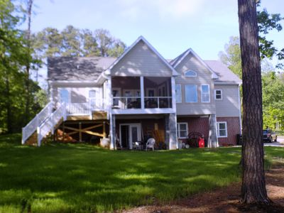 Photo for New Waterfront  Home Just Completed May 2016!   5 Bedrooms 4 Baths-