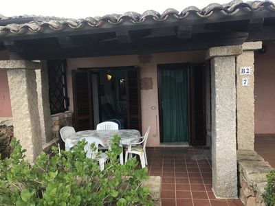 Photo for Terraced house 600 m from the sea very nice quiet area and close to the village.