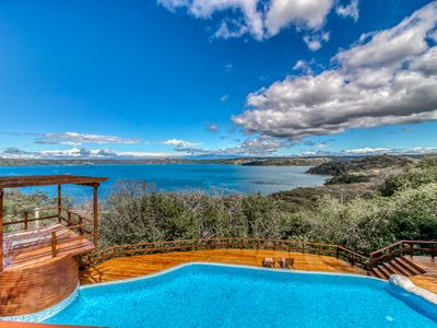 Photo for Spectacular Ocean View home w/ wrap-around deck, private pool & grill!