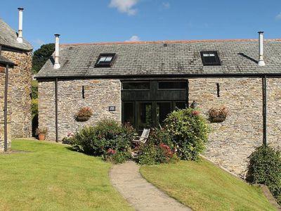 Photo for Stylish barn conversion in the beautiful South Hams - quiet location, sleeps 6