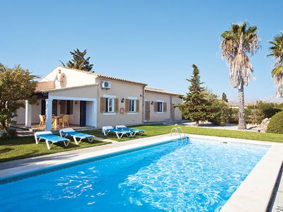 Photo for Conveniently located superb Villa set among mature gardens w/pool and BBQ