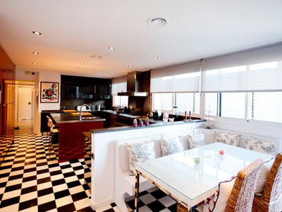 Photo for Spectacular Luxurious 6 Bedroom Penthouse w/ Pool, Sleeps 10, Ref. BCNA305