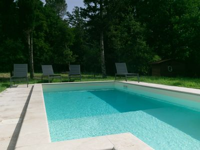 Photo for Charming recently restored farmhouse with private pool