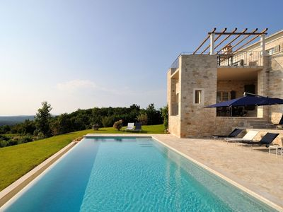Photo for Stone Villa Portole, in Istria, with a Pool