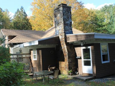 Photo for ** 15% DISCOUNT! **  Charming Pet-friendly studio w/fireplace