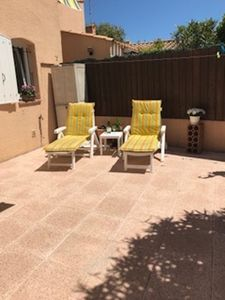 Photo for Family friendly villa 10 minutes walk to beach. Pool in residence