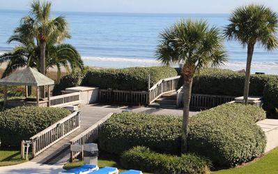 Photo for Best View In The Resort.  End Unit With Complete Ocean/Beach/Pool View.