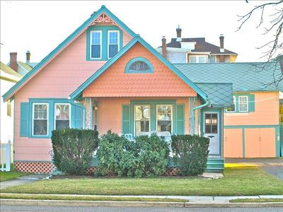 Photo for One Block to the Beach Year-Round Rental Cape May Cottage with optional Loft apt