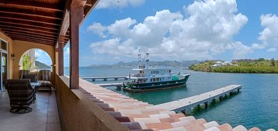 Condo Marina 360  -  Ocean View - Located in  Tropical Cupecoy with House Cleaning Included
