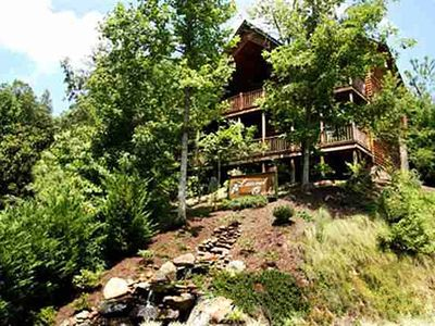 Photo for Luxury Spacious Log Home Convenient to Downtown, No Hidden Fees