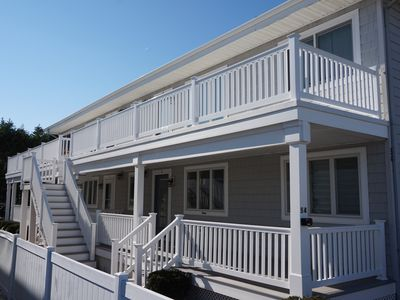 Photo for Come enjoy fun in the sun this summer in a bright and beachy recently renovated first floor condo located one house away from the beach and Avalon boardwalk.
