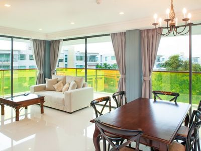 Photo for 2-BR Apartment w PoolView@RoccoHuaHin_4J