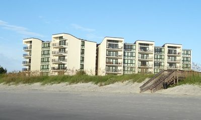 Photo for Comfortable Oceanview Condo, Shipyard B13 offers Great Views of the Beach and Ocean