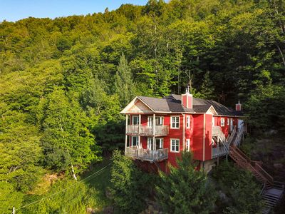 Photo for Condo with views over the Old Tremblant Village