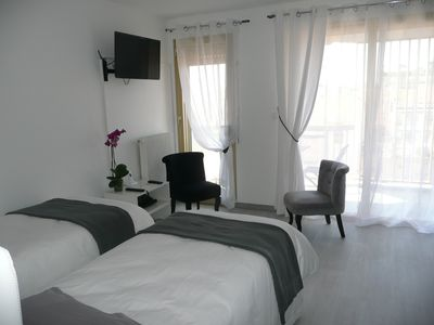 Photo for 5 MINUTES FROM THE SEA STATION AND CONVENTION CENTER AND 1 MN STREET D'ANTIBES