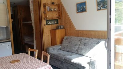 Photo for 1BR Studio Vacation Rental in Les Belleville, Auvergne-Rhône-Alpes