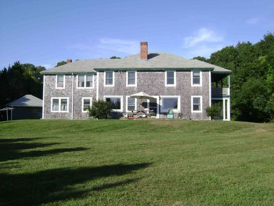 Photo for Beautiful family summer home with private beach. Mattapoisett / Buzzards Bay