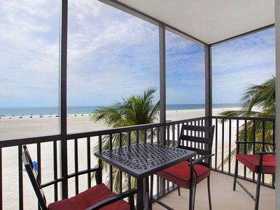 Photo for Summer Sale! 25% off!! GREAT VIEW OF THE GULF OF MEXICO FROM ISLAND WINDS 4TH FLOOR CONDO! Click for reviews! Free WIFI, Central Air, Onsite Parking, Full-sized Washer and Dryer in UNIT!