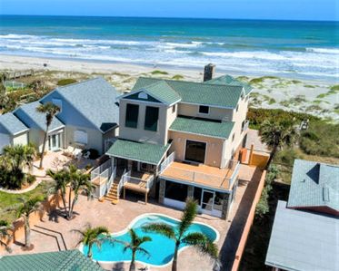 Photo for Downtown Oceanfront House, Pool and Beach Access - Sleeps 14 Guests