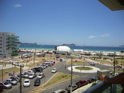 Photo for Large apartment in front of Praia do Forte and the traditional Handicrafts Fair