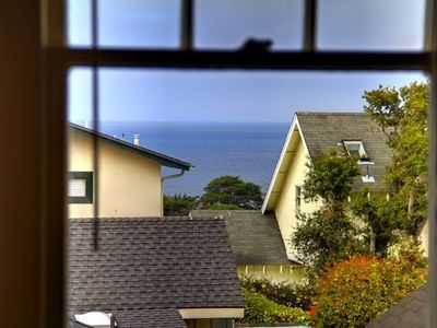 Ocean View from Living Room Window.  Ocean is Just Four Blocks Away!