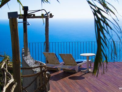 Photo for Rural Cottage in sunny Calheta with shared pool, WIFI, BBQ, Sea View